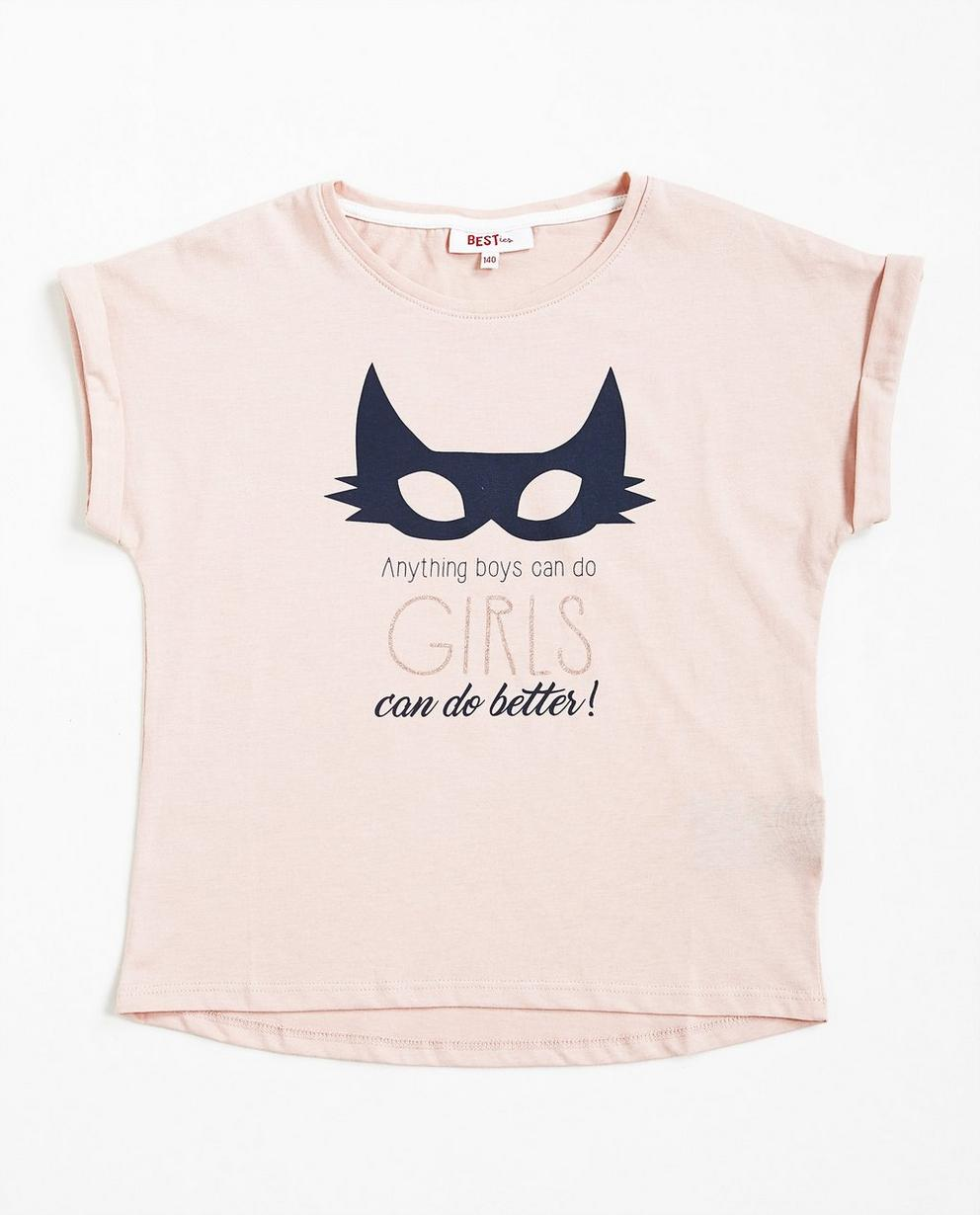 T-shirt avec imprimé - gris clair, BESTies - Besties